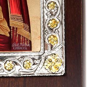 Icona serigrafata argento 950 Madonna Tenerezza s3