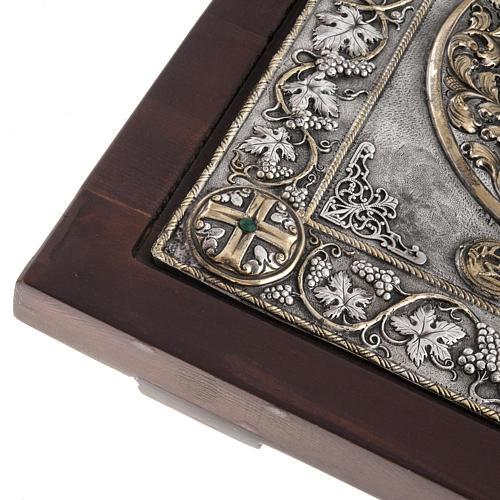 Icona Grecia Madonna Umilenie riza argento 950 7