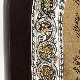 Icona Grecia Albero di Jesse da tavolo argento 925 s3