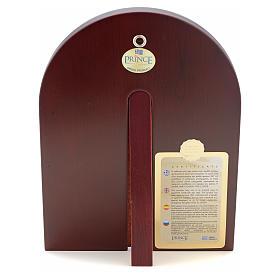Icona serigrafata Cristo Libro Aperto argento s3