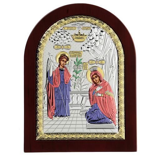 Icono serigrafiado Anunciación 1