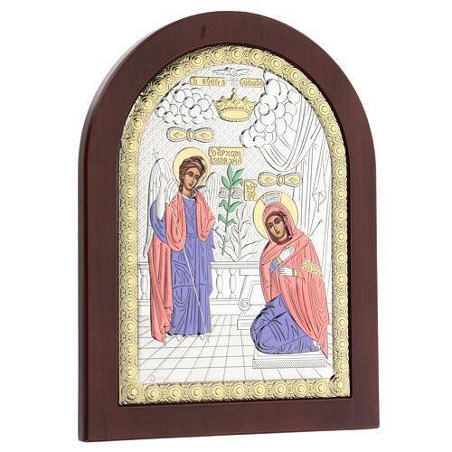 Icono serigrafiado Anunciación 3