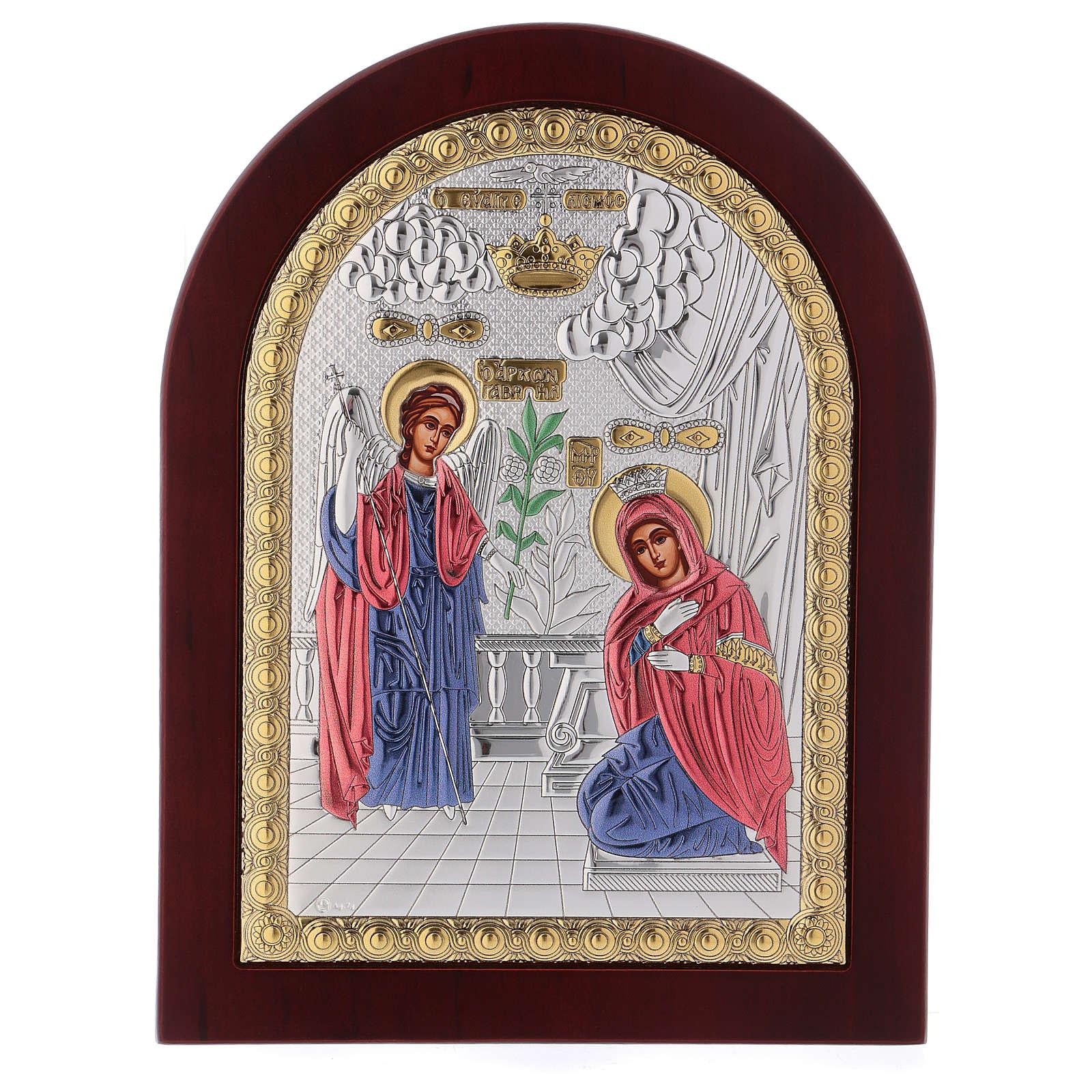 Icona serigrafata Annunciazione 4