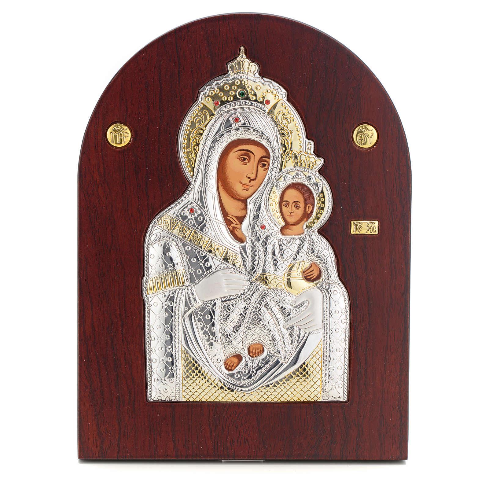 Icono serigrafiado María Virgen Belén 4