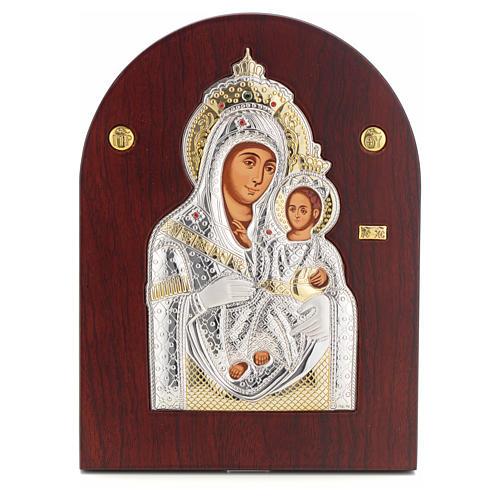 Icono serigrafiado María Virgen Belén 1