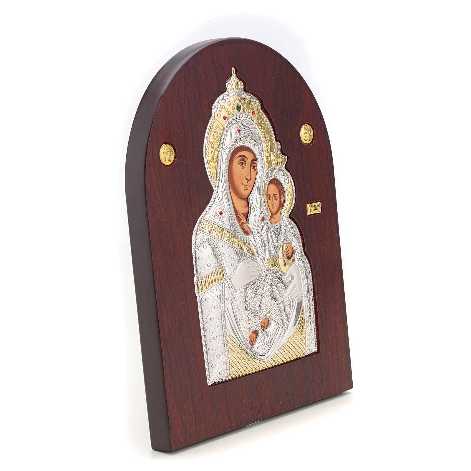 Icône sérigraphiée Vierge Marie Bethléem 4