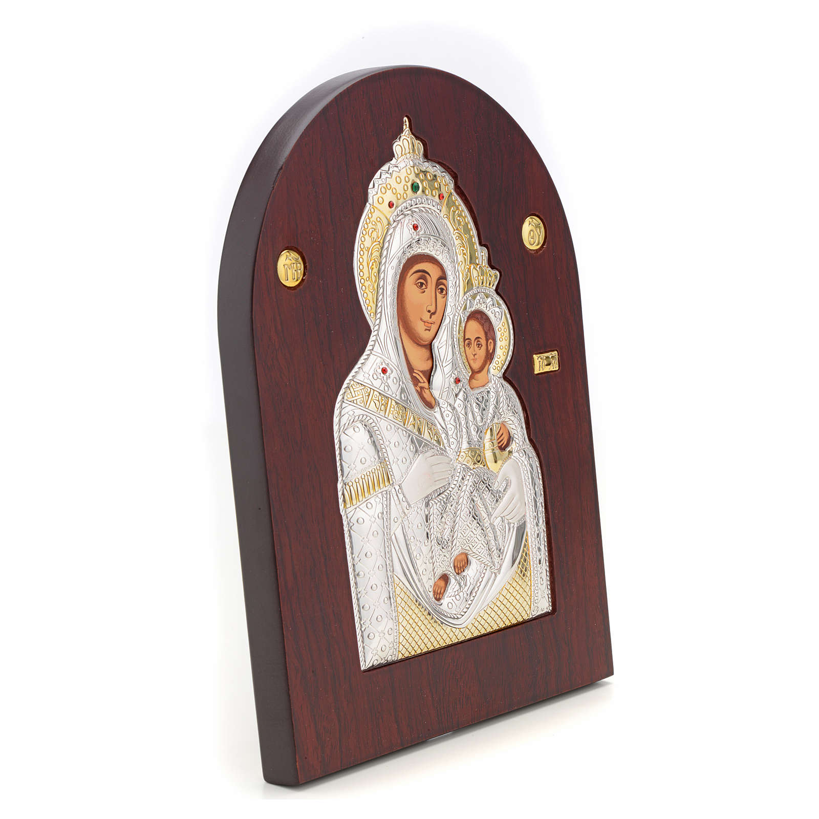 Virgin Mary of Bethlehem icon, silkscreen printing 4