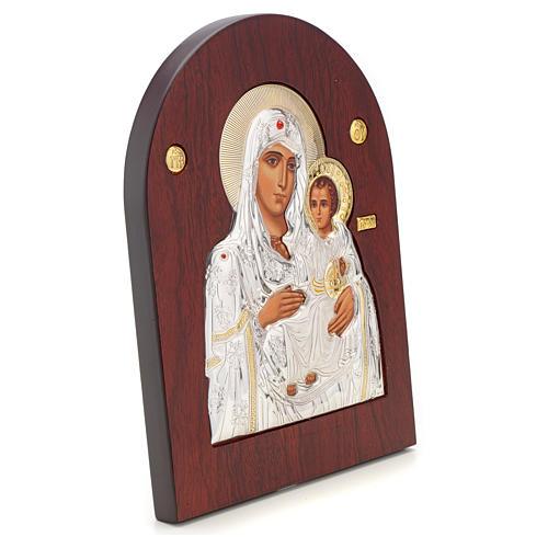 Icône sérigraphiée Mère de Dieu Jérusalem 2