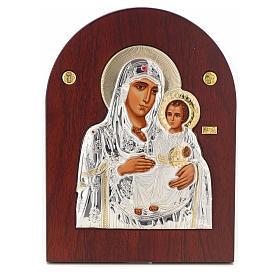 Virgin Mary of Jerusalem icon, silkscreen printing s1