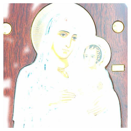 Virgin Mary of Jerusalem icon, silkscreen printing 4