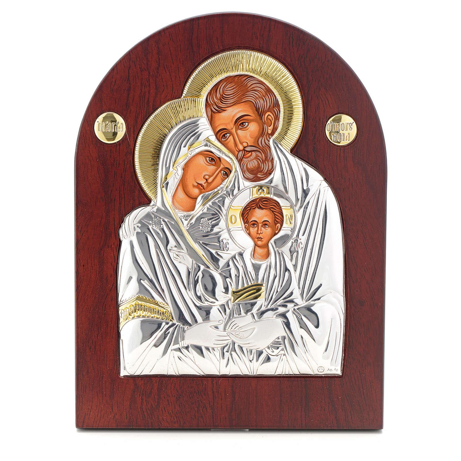 Icono serigrafiado S. Familia arqueado 4