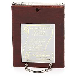STOCK Icona Madonna Korsun lamina argento 925 cm 12x9,5 s2