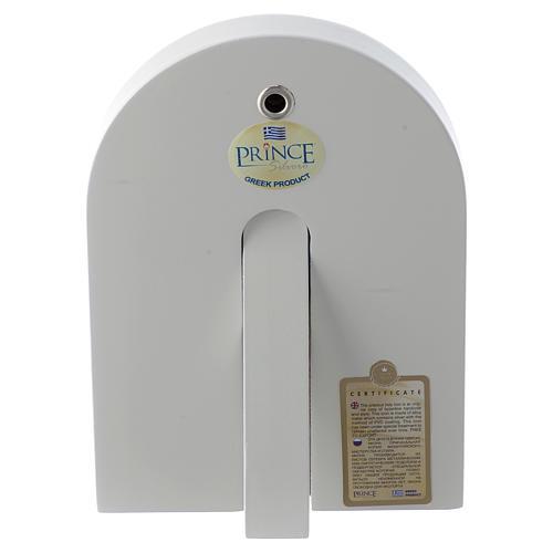 Icono Sagrada Familia 14x10 cm plata 925 detalles dorados 2