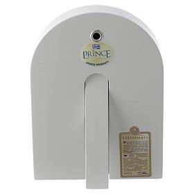 Icône Sainte Famille 14x10 cm argent 925 finitions dorées s2