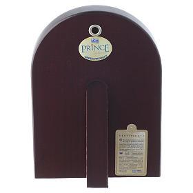 Icono Cristo Pantocrátor 14x10 cm plata 925 detalles dorados s2