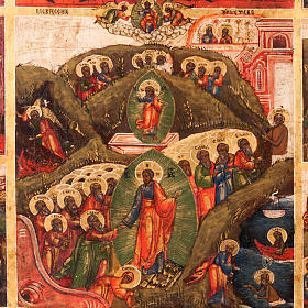 Antique icon 'The 12 great feasts of the liturgical year&#0 s2