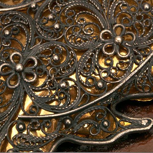 Ikona antyk 'Matka Boża Smoleńska' ramka srebrna | sprzedaż