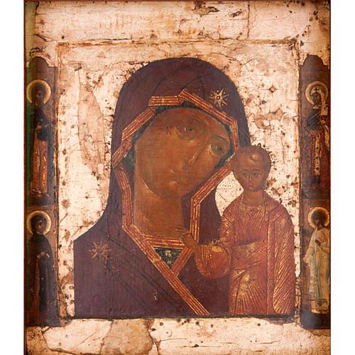 Antique icon 'Our Lady of Kazan' 2