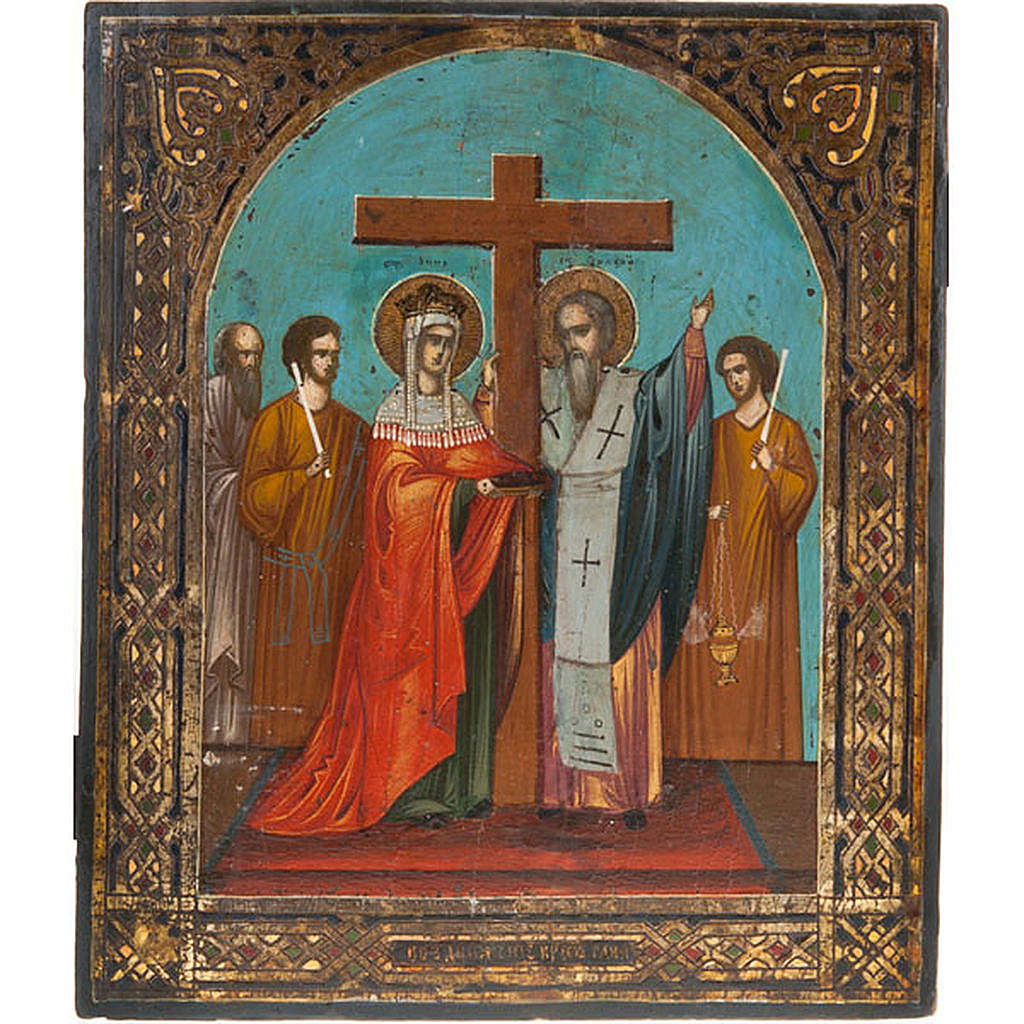 Icon 'Exaltation of the Holy Cross' 4