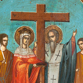 Icon 'Exaltation of the Holy Cross' s3