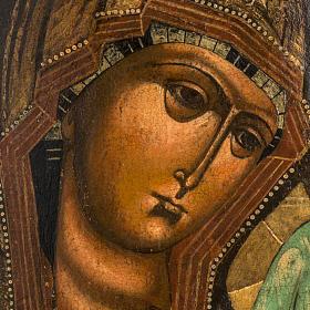 Antique Icon 'Our Lady of Kazan' s2