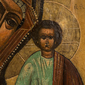 Antique Icon 'Our Lady of Kazan' s3