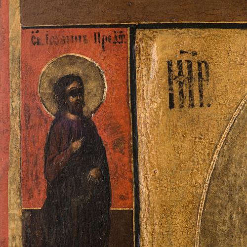Antique Icon 'Our Lady of Kazan' 5