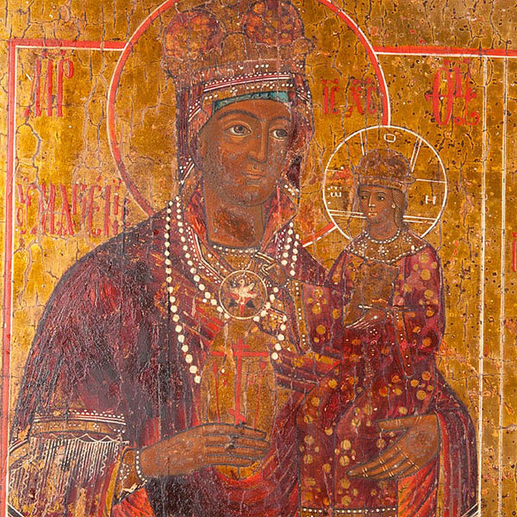 Icona antica russa in quattro parti 4