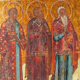 Icona antica russa in quattro parti s2