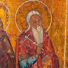 Icona antica russa in quattro parti s5