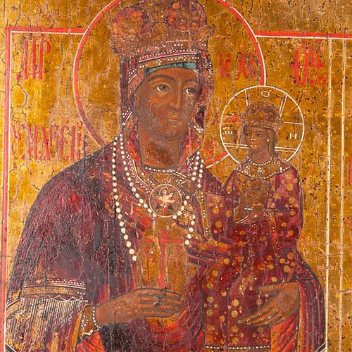 Icona antica russa in quattro parti 3