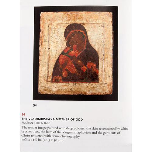 Icona antica Madre di Dio di Vladimir 3