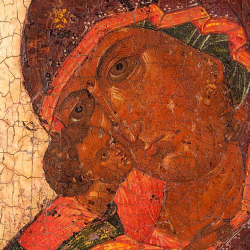 Icona antica Madre di Dio di Vladimir 6
