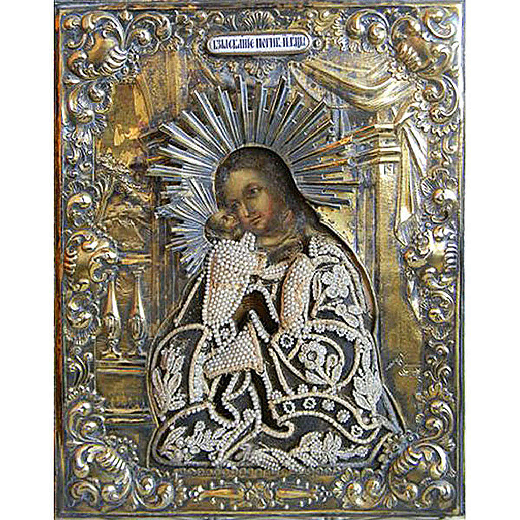 Ancient icon 'She who searches for the losts' 4