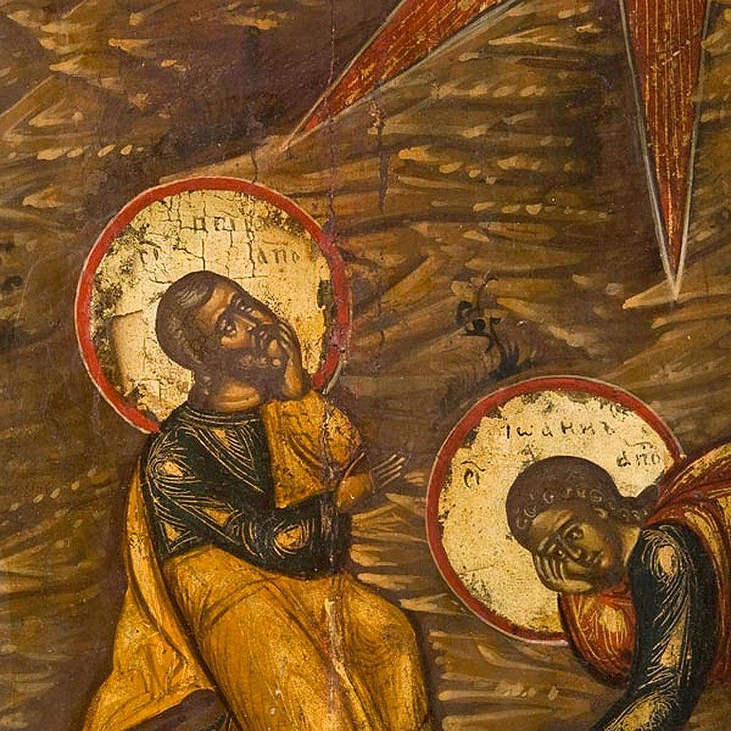 Icona russa antica Trasfigurazione sul Monte Tabor 4