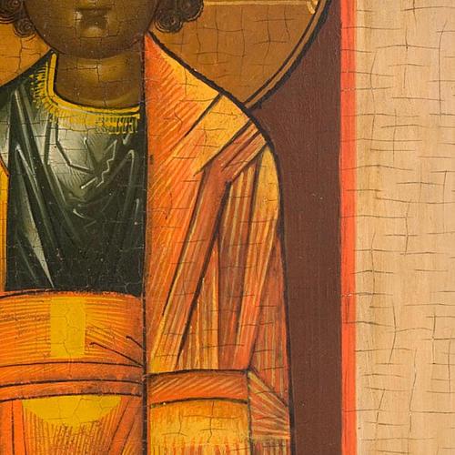 Icona russa antica Madre di Dio di Kazan 6