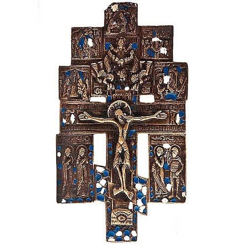 Icona bronzo antico '700