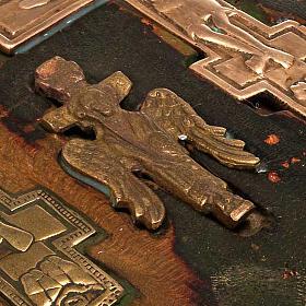 Stauroteca antica russa 11 bronzi da XVI a XVIII secolo s6