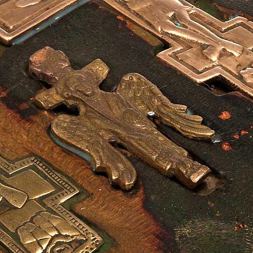 Stauroteca antica russa 11 bronzi da XVI a XVIII secolo 6