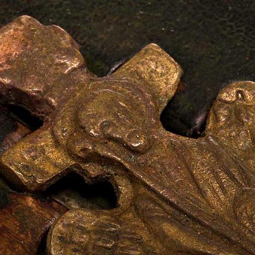 Stauroteca antica russa 11 bronzi da XVI a XVIII secolo 7