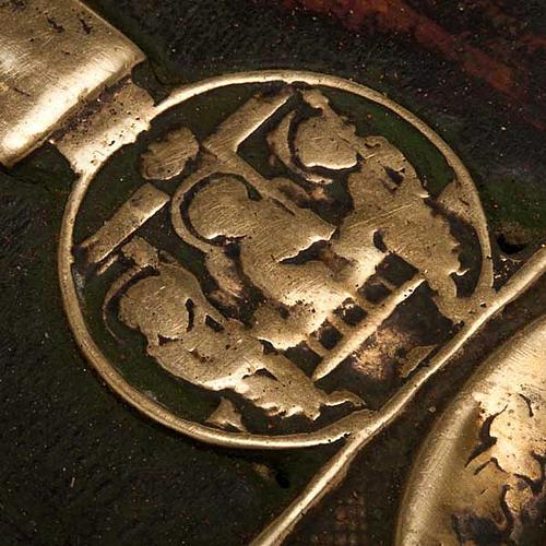 Stauroteca antica russa 11 bronzi da XVI a XVIII secolo 8