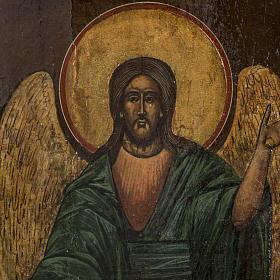 Old Russian Icon of St. John the Precursor 18th century s2