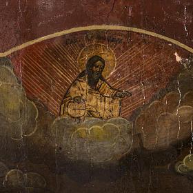 Old Russian Icon of St. John the Precursor 18th century s3