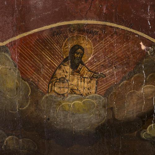 Old Russian Icon of St. John the Precursor 18th century 3