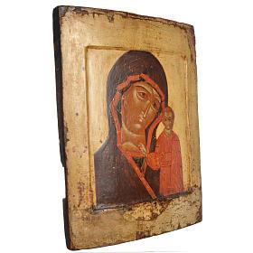 Icona russa antica Kazan XVII secolo s2