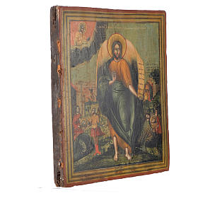 Russian icon Saint John the Baptist, XIX century 31x27 cm s2