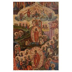 Icona le 12 feste antica Russa 54x37 cm s2