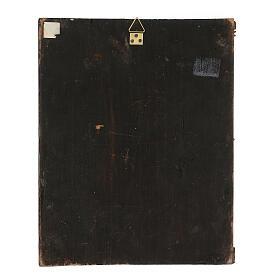 Icona antica russa Colei che ricerca i perduti XIX secolo 30x24 cm s5