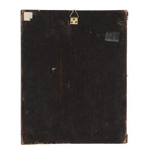 Icona antica russa Colei che ricerca i perduti XIX secolo 30x24 cm 5