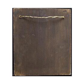 Icône ancienne russe Saint Pantaléon milieu XIX siècle 30x28 cm s4